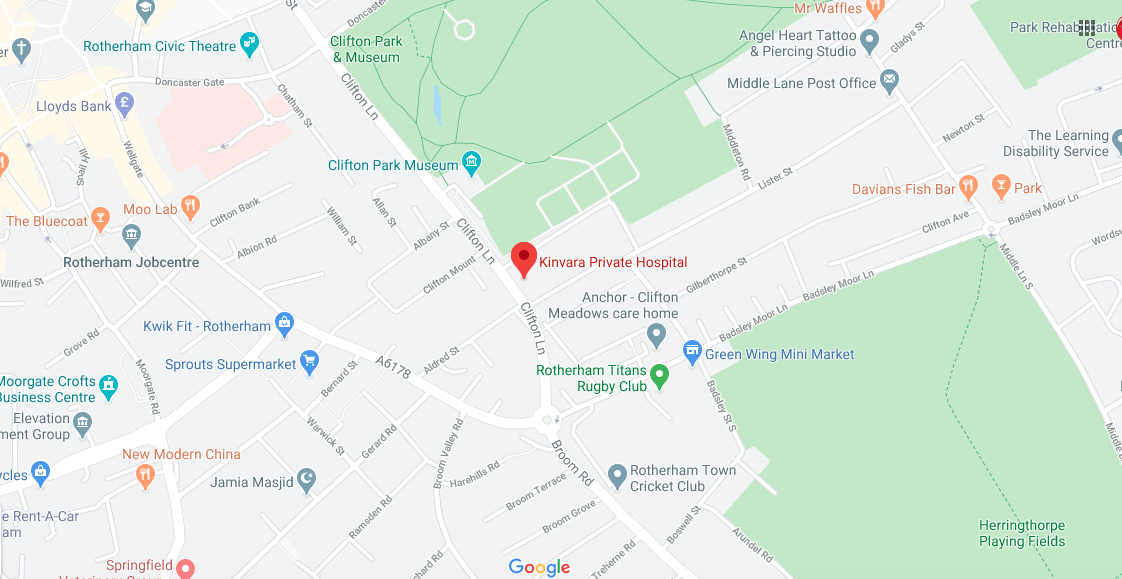 Kinvara Private Hospital Directions