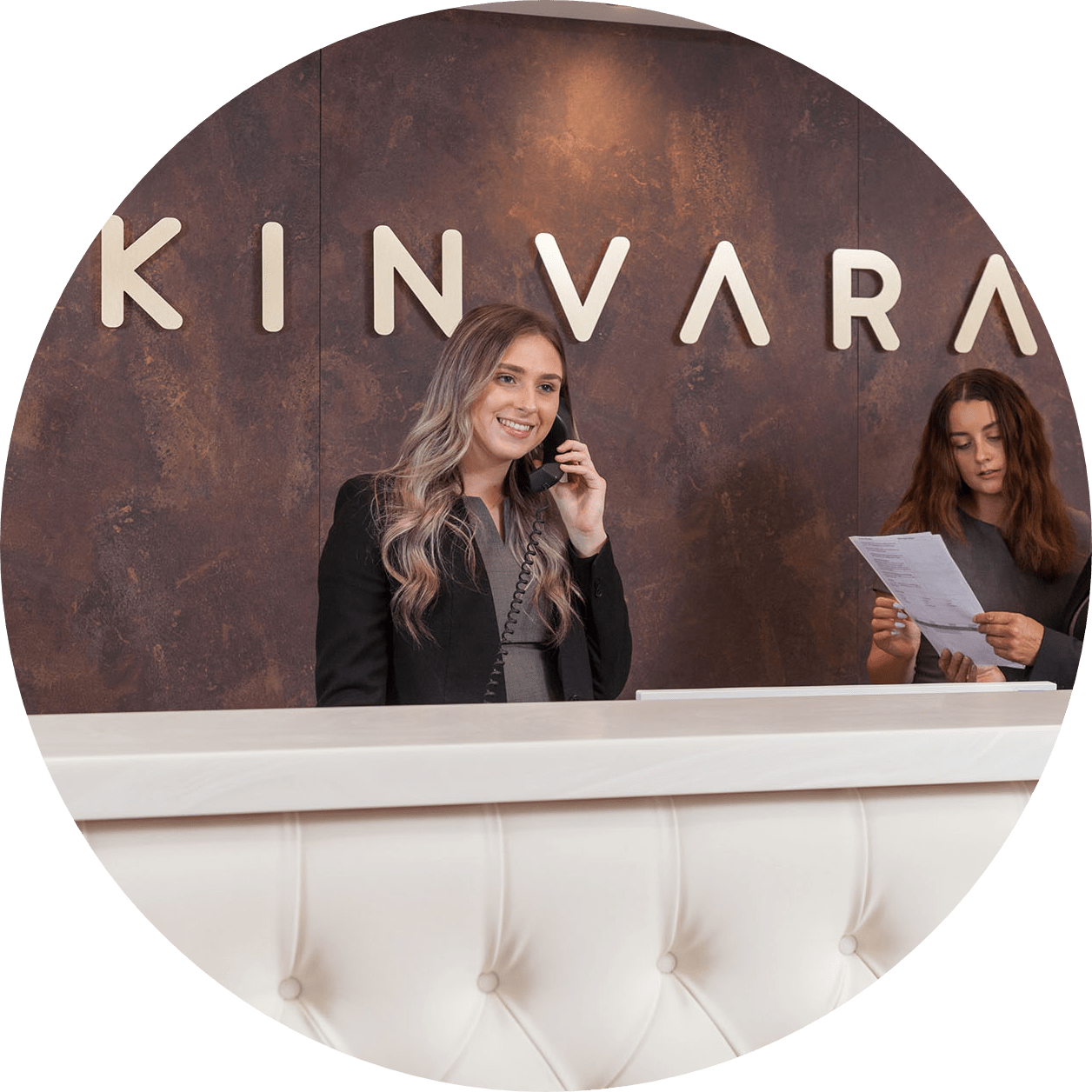 Kinvara Circle Icon
